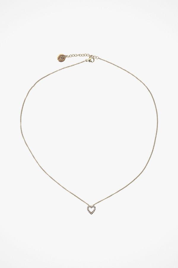 Edblad smycke Halsband Glow Heart Necklace Gold
