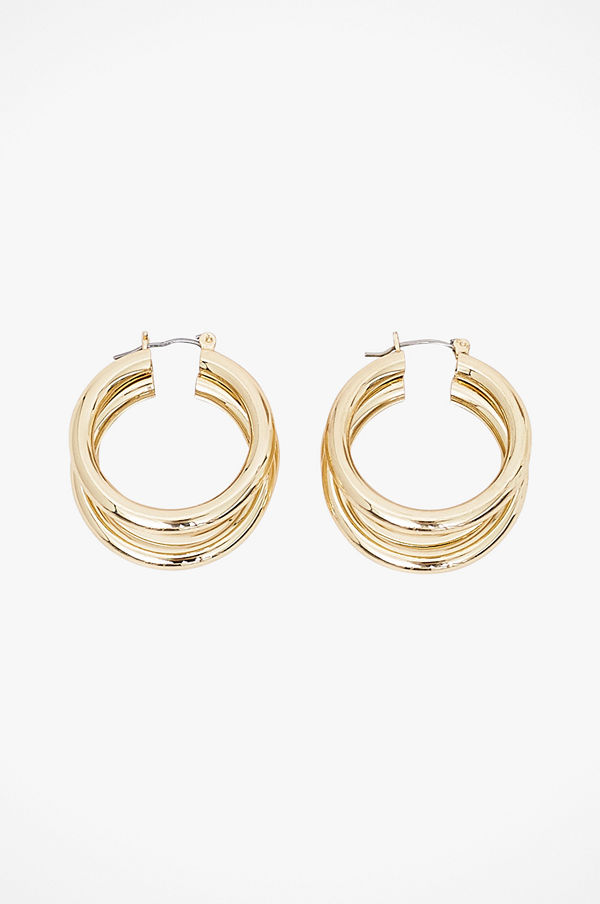 Pieces smycke Örhängen pcElaina Hoop Earrings