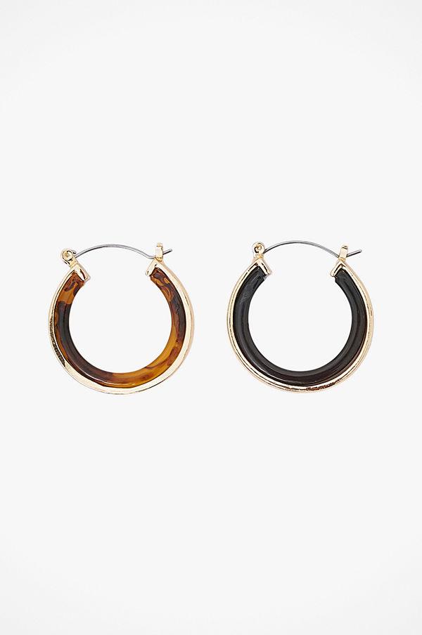 Pieces smycke Örhängen pcAmy Hoop Earrings D2D