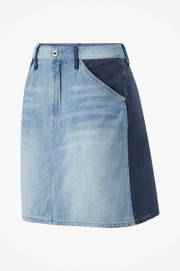 G-Star Jeanskjol Faeroes Zip Skirt