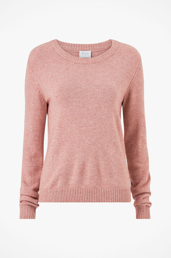Vila Tröja viRil L/S O-Neck Knit Top