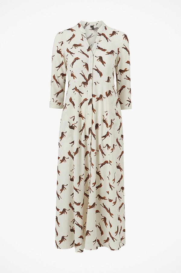 Vero Moda Maxiklänning vmLizzy Tiger 3/4 Ankle Shirt Dress
