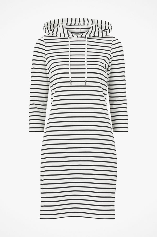 Vila Klänning viTinny 3/4 Sleeve Hoodie Dress