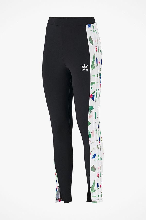 ADIDAS Originals Black & White Floral Leggings