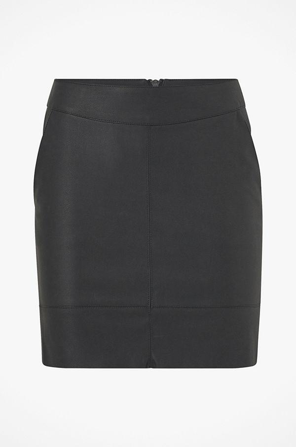 Only Kjol onlBase Faux Leather Skirt
