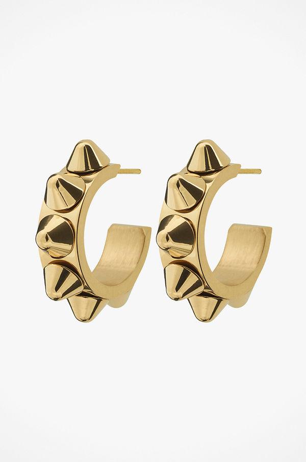 Edblad smycke Örhängen Peak Creole Earrings Small Gold