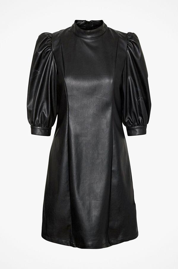 Vero Moda Klänning vmGwenhazel 3/4 PU Puff Dress