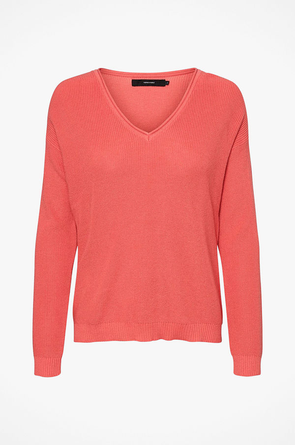 Vero Moda Tröja vmLexa LS V-neck Blouse Color