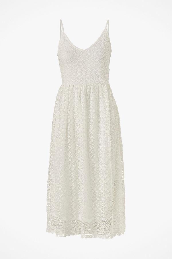 Vila Spetsklänning viGlow S/L Midi Dress