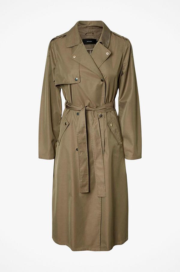 Vero Moda Kappa vmElya Long Trench Coat