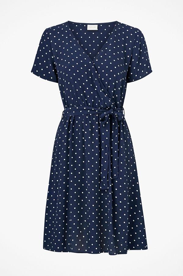 Vila Klänning viPrimera Wrap SS Dress Klänningar online