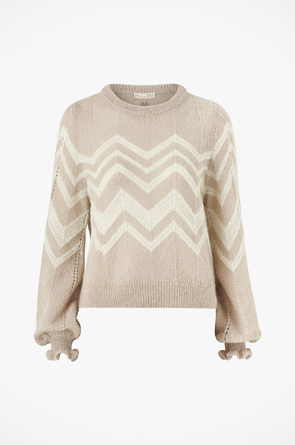 Odd Molly Tröja Magnetic Striped Sweater