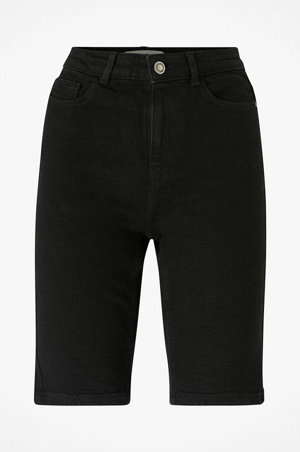 Pieces Jeansshorts pcKamelia Skn MW Long Shorts