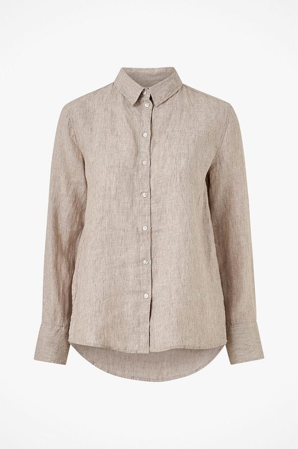 Gina Tricot Linneskjorta Kimberly Linen Shirt