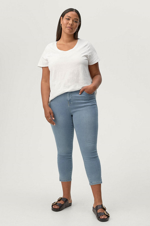 Zizzi Jeans 7/8 Amy Super Slim