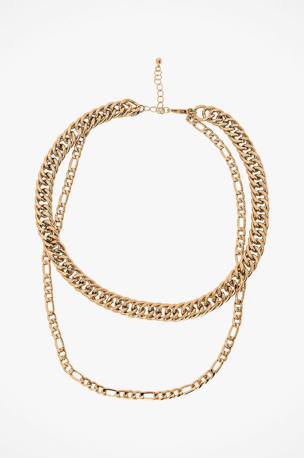 Pieces smycke Halsband pcJune Combi Necklace D2D PB
