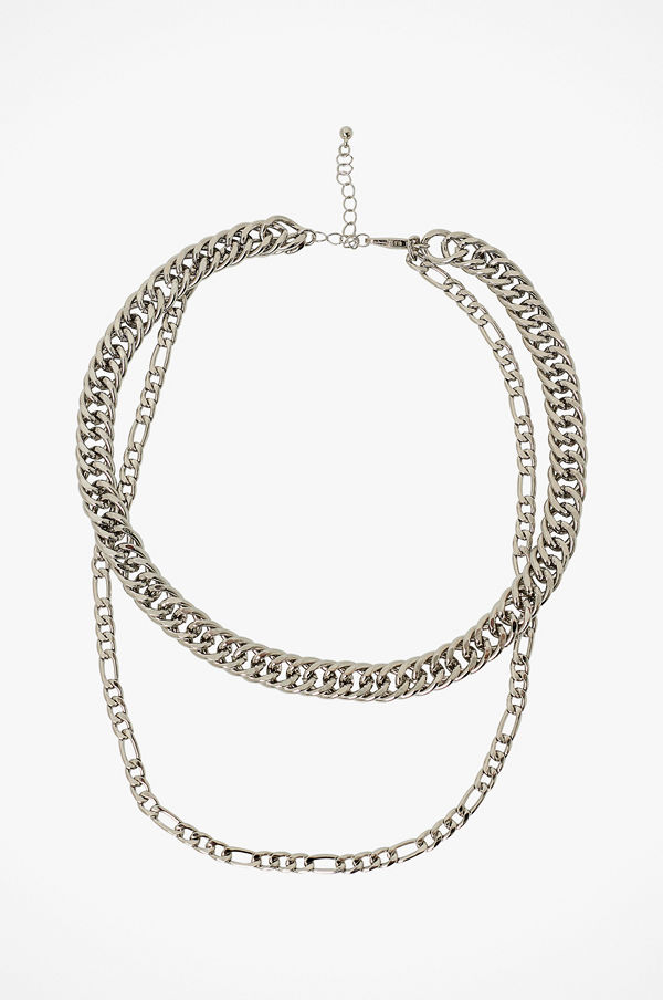 Pieces smycke Halsband pcJune Combi Necklace D2D PB