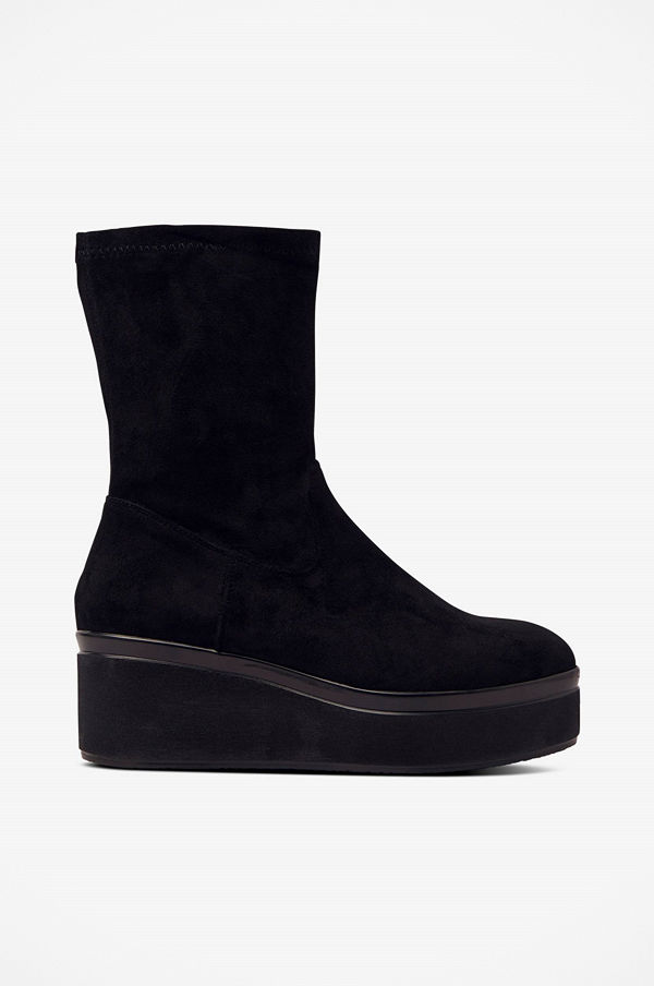 Ellos Boots Flatform Stretch