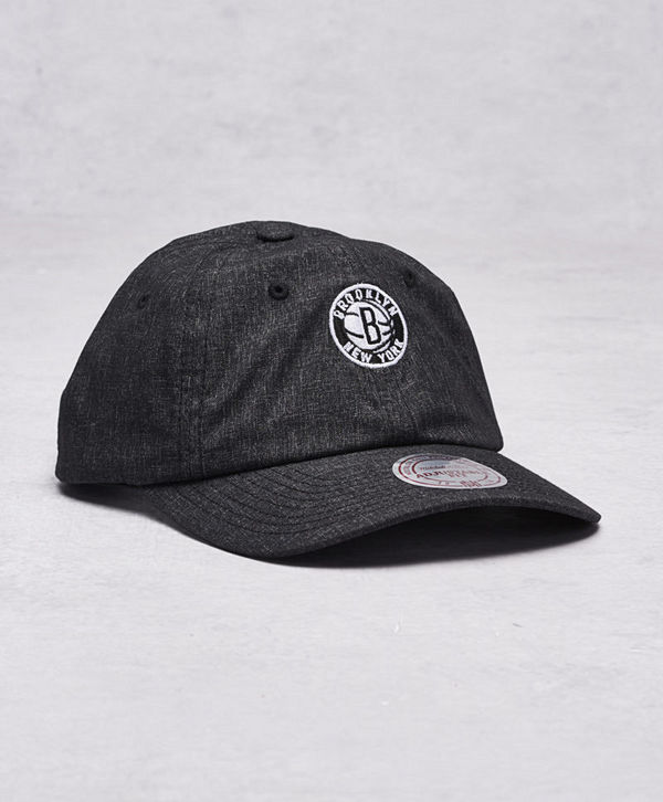 Mitchell & Ness Brooklyn Nets Snapback Black