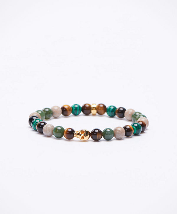Thomas Sabo A1533 Green/Multi/Gold Bracelet