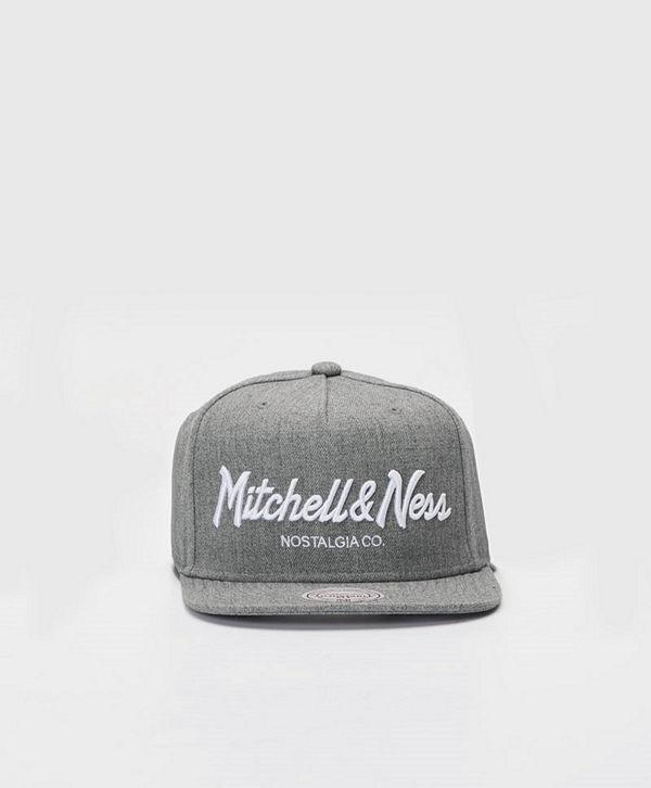 Mitchell & Ness Pinscript Snapback Own Brand Grey Heather