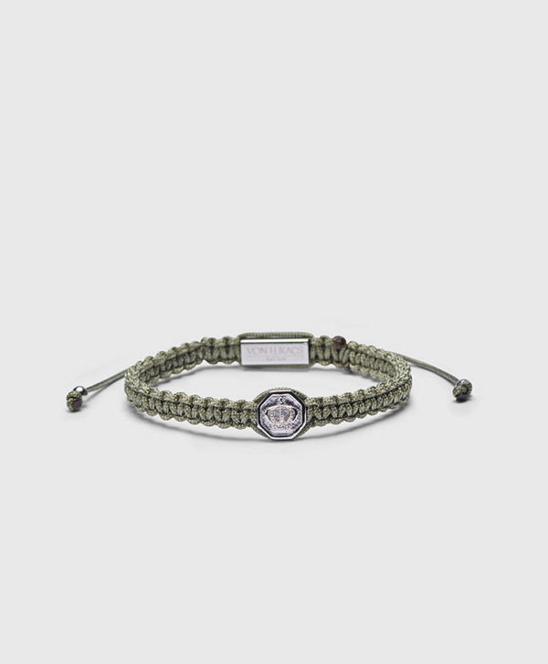 Von Lukacs Monarch 925 Military Green/White Gold
