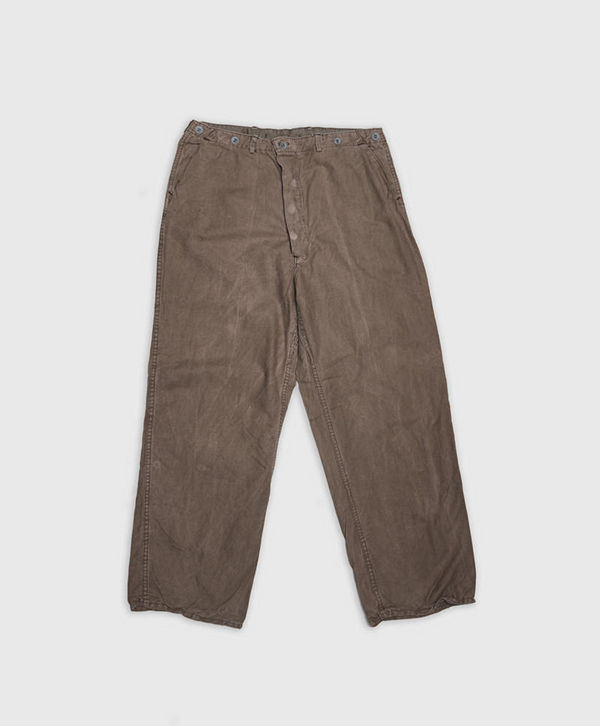 Vintage by Stayhard Swedish Army Chore Pant Washed Green - Byxor ... a4fd28d423c1b