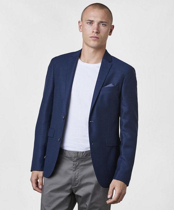 Sand Star Soft 570 Blue - Kavajer   kostymer online - Modegallerian c97eb7163b5e8