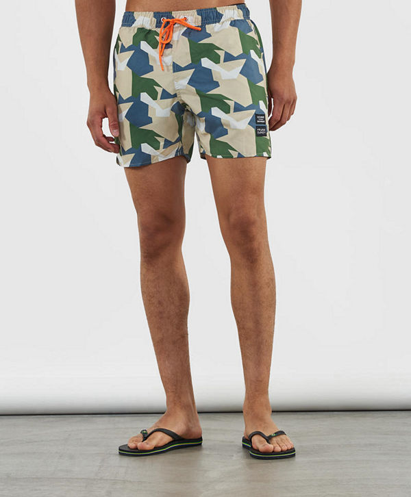 Frank Dandy The Mauler Camo Swimshorts Green