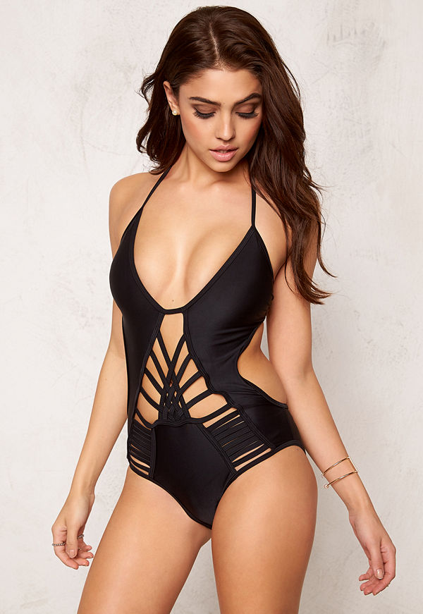 Hot Anatomy Multi Strapped Swimsuit