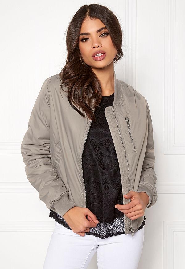 Rut & Circle omönstrad bomberjacka Kate Front Zip Jacket
