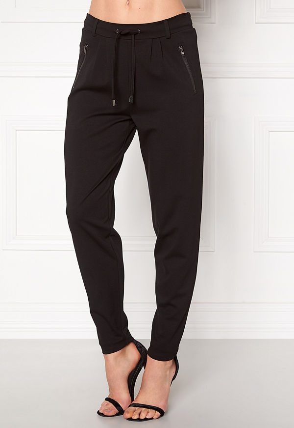 Happy Holly svarta byxor Cleo Trousers