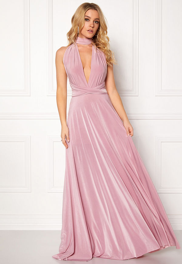 enjoy complimentary shipping release date: vivid and great in style Multi Tie Maxi Dress
