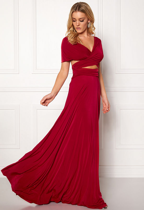 Goddiva Multi Tie Maxi Dress - Klänningar online - Modegallerian 7590f69793f43