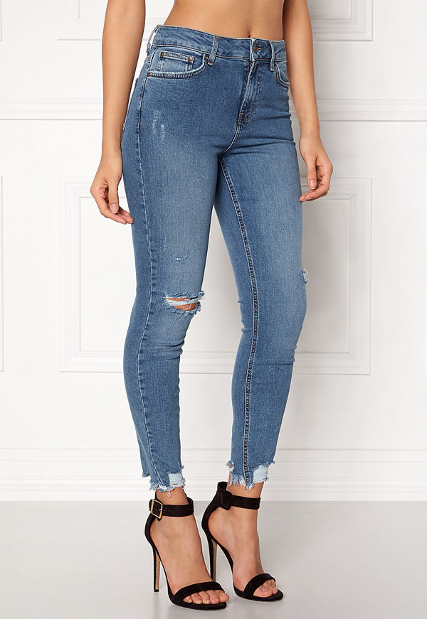 New Look omönstrade byxor Rise Skinny Sage Jeans