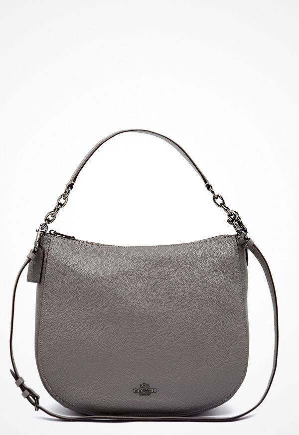 Coach grå väska Chelsey Leather Bag