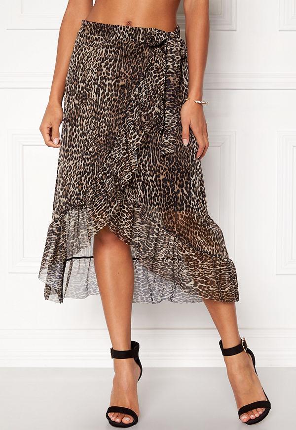 Pieces Lulu Medi Mesh Skirt