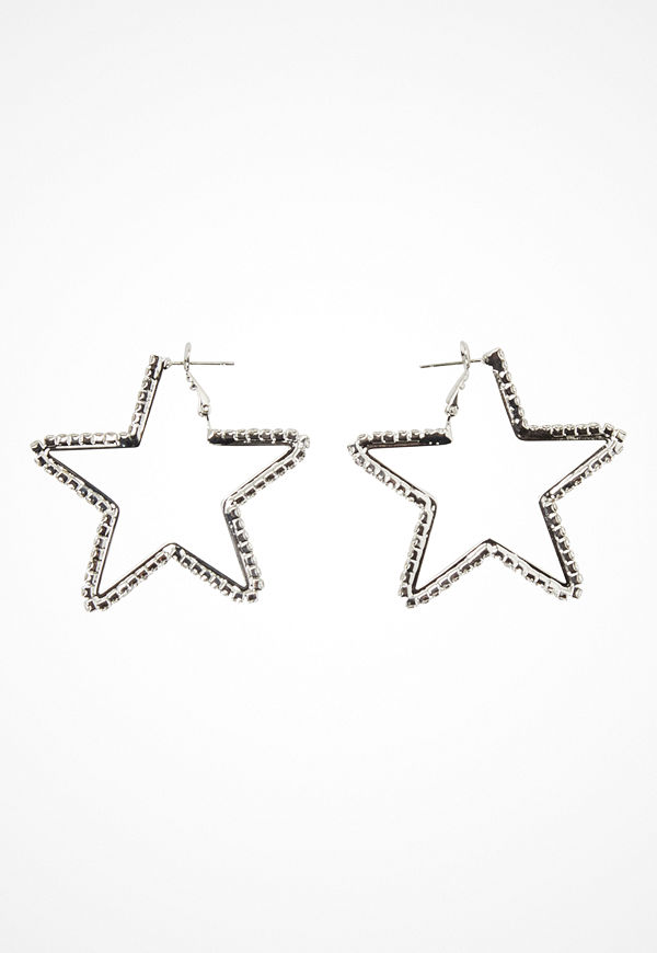 Love Rocks örhängen Star Cut Out Earrings