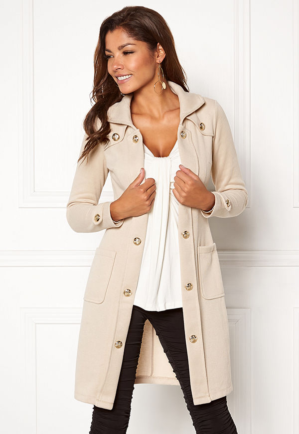 Chiara Forthi Sottovalle Jersey Coat