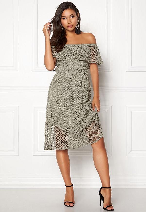 Rut & Circle Li Off Shoulder Dress
