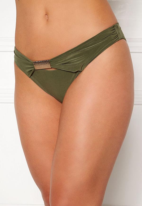 Goddiva Resort Halterneck Bikini Bottom