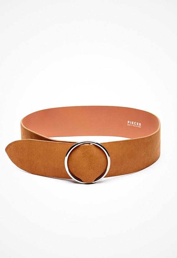Pieces Docia Suede Waist Belt