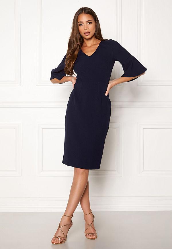 Closet London Bell Sleeve Pencil Dress