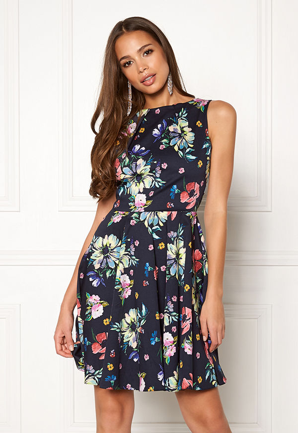 Closet London Floral Sleeveless Dress