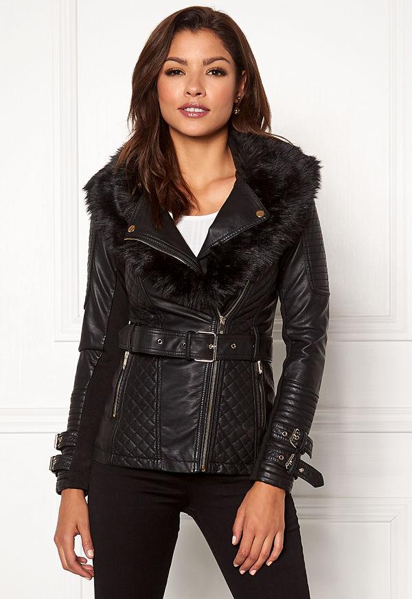 Chiara Forthi Roma Fake Leather Jacket