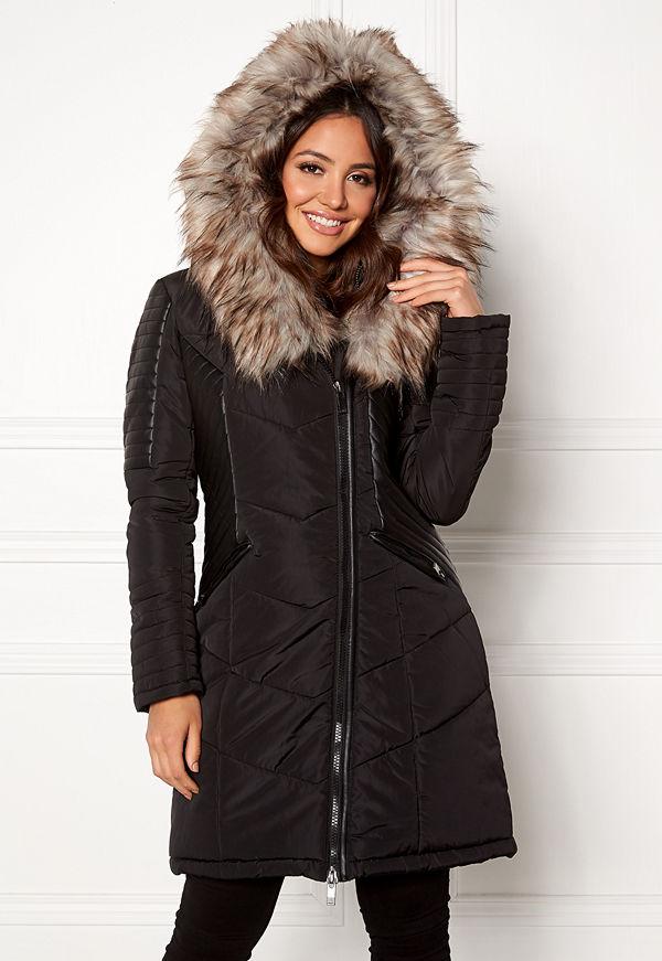 Only Linette Fur Hood Coat