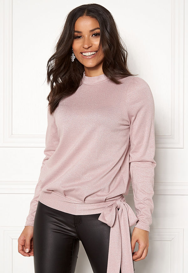 Happy Holly Lily lurex top
