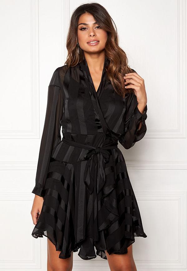 Object Katinka L/S Wrap Dress