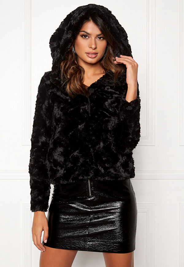 Vero Moda Curl Hoody Faux Fur Short