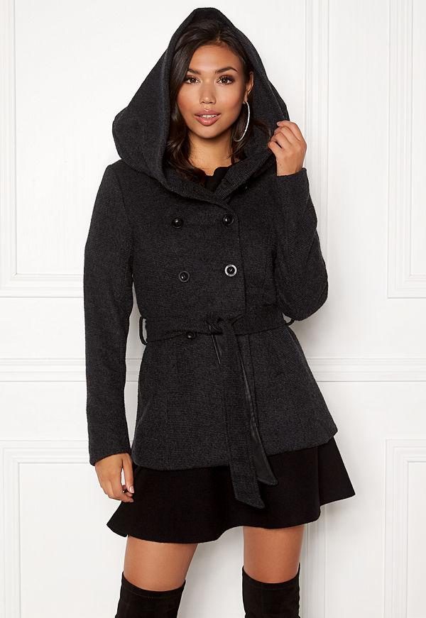 Only Lisa Hooded Wool Coat